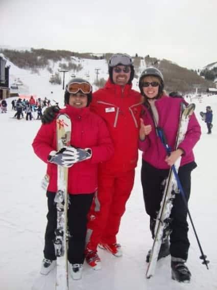adult ski school