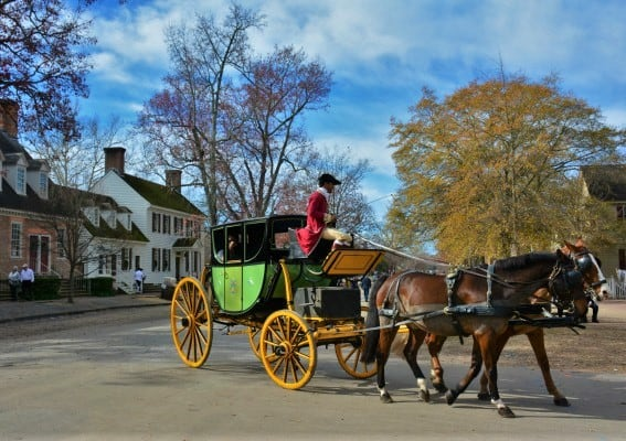 Top 10 things for families to do in Virginia: colonial-williamsburg
