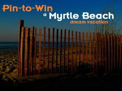 Myrtle Beach Pin to Win Contest Trekaroo Family Giveaway