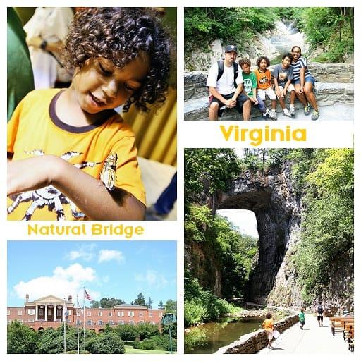 Family friendly Virginia: Natural Bridge Virginia F