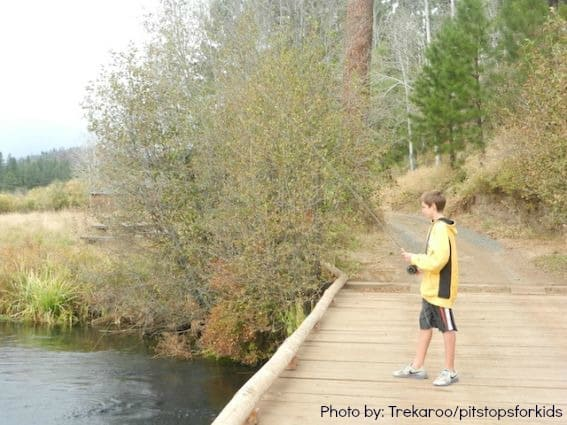 The perfect family mountain getaway at house on metolius for Suttle fish farm