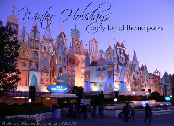 Christmas theme parks