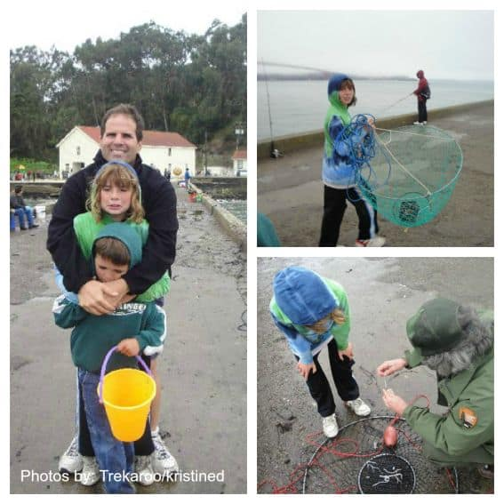 Kid-Friendly Crabbing at the Presidio in San Francisco, CA