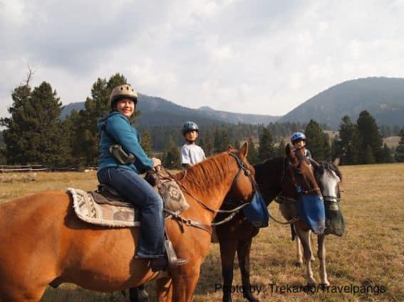 Lone Mountain Ranch - horseback riding
