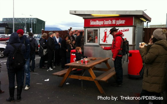 Reykjavik with kids food