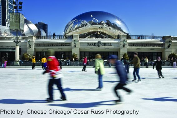 McCormick Tribune Ice Rink photo by Choose Chicago Cesar Russ Photography