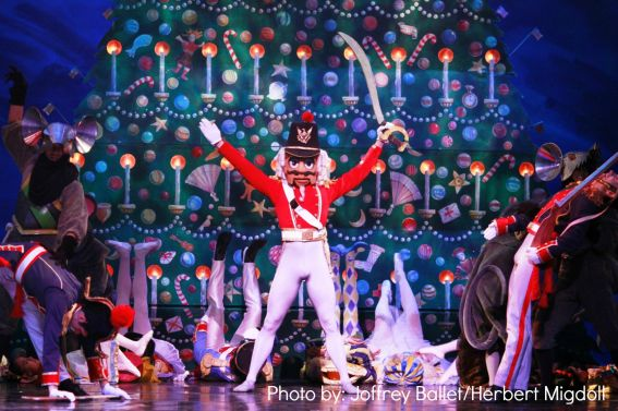 The Nutcracker by the Joffrey Ballet in Chicago, IL. Photo by: Joffrey Ballet/Herbert Migdoll