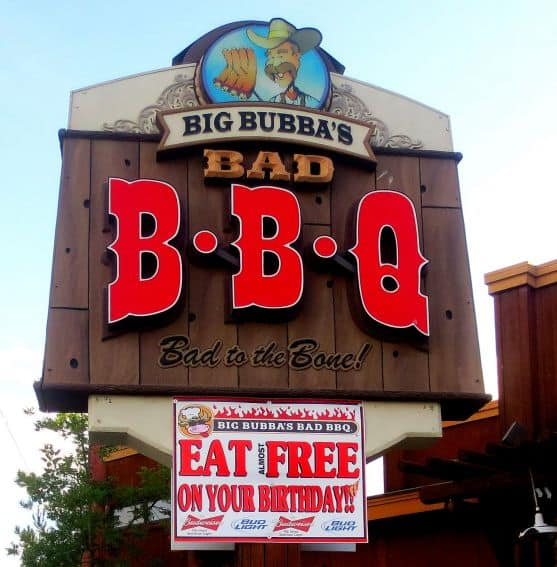 Big Bubba's BBQ Paso Robles California