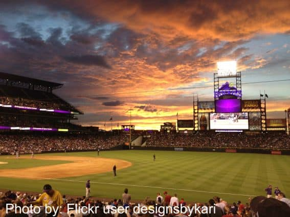Coors Field from Flickr User designsbykari