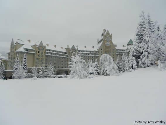 Fairmont Chateau- a fairytale ski vacation