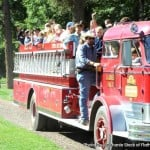 Flathead Lake Lodge Kids Firetruck