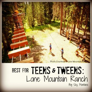 Lone Mountain Ranch Best Family Dude Ranch Vacations