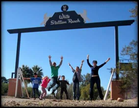 White Stallion Ranch Family Jump