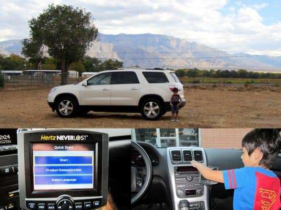 Hertz NeverLost Albuquerque and Santa Fe With Kids