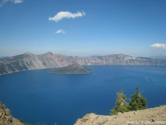 Crater Lake National Park Oregon Photo by Flickr/cm195902