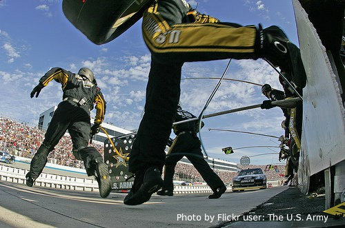 Dover International Speedway Flickr user The US Army