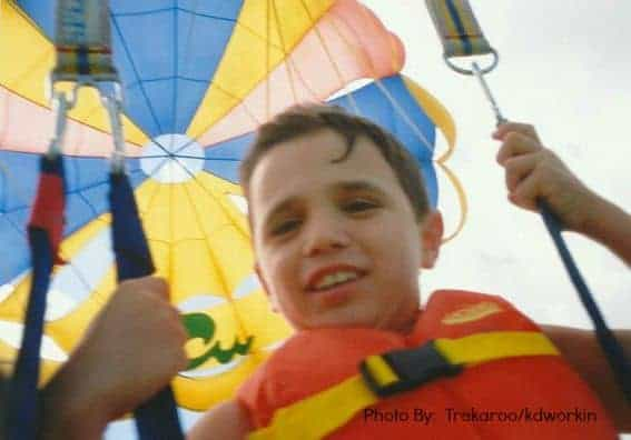 Kid Friendly Florida Parasail