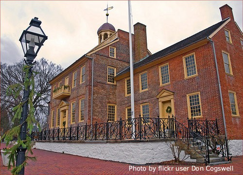 Historic New Castle, Delaware flikr user Don Cogswell