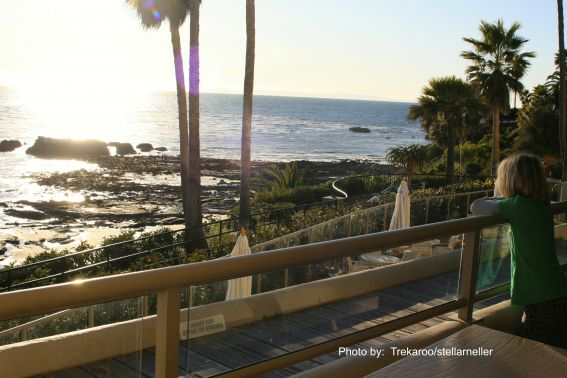 Laguna Beach hotel view family friendly