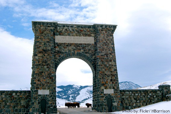 Montana Top 10 Yellowstone Roosevelt Arch