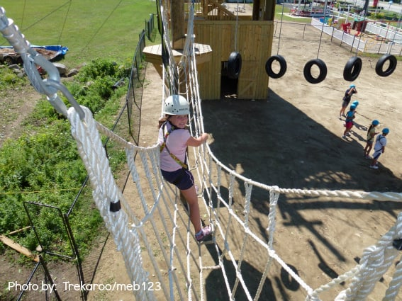 New Hampshire With Kids Adventure natropes