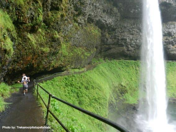 Silver FallsState Falls  near Salem, OR  Photo by: Trekaroo/pitstopsforkids
