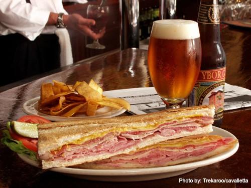 Columbia Cuban sandwich Castillo de San Marcos Photo by: Trekaroo/cavalletta