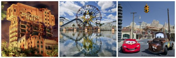 Disney California Adventure Collage