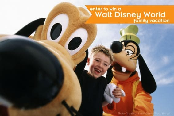 Enter to win a Walt Disney World family vacation
