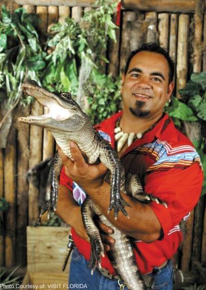 Seminole Tribe Photo Courtesy of: VISIT FLORIDA