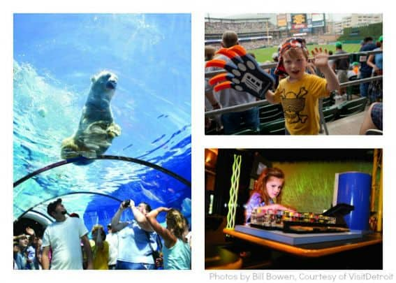 Top 10 Michigan Detroit Zoo Comerica Park Michigan Science Center