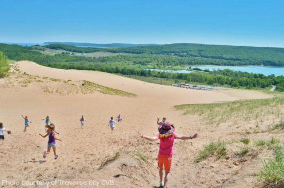 Top 10 Michigan Family Fun Sleeping Bear Dunes Michigan