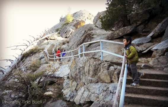 Three National Parks in Three Days: Moro Rock, Sequoia National Park Photo by: Tina Buell
