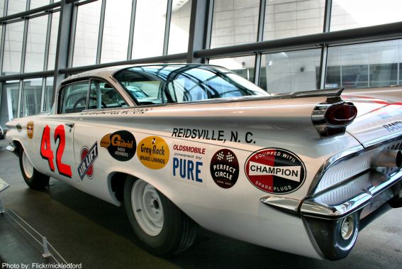 Nascar Hall of Fame Photo by: Flickr/nickledford