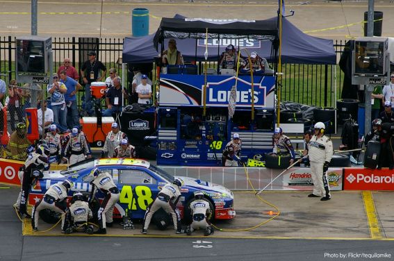 Nascar Photo by: Flickr/tequilamike