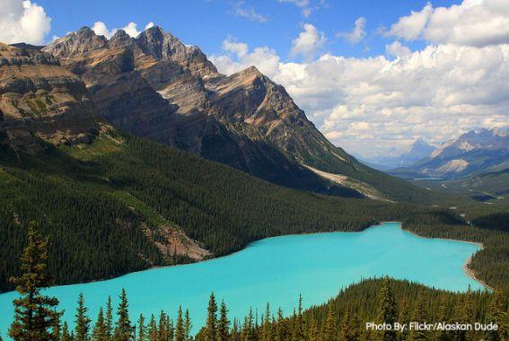 peytolakebanff weekend getaways from Calgary
