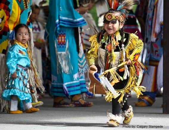 Calgary Stampede with Kids - First Nations Dance