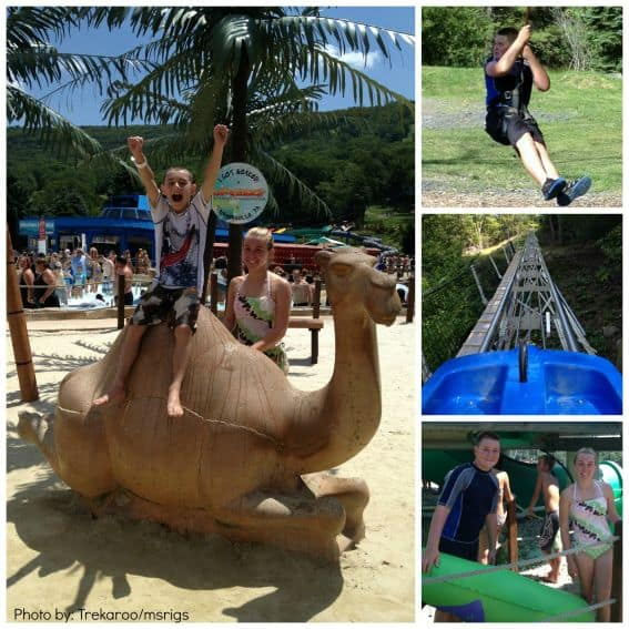 Camelbeach Pocono Mountains with Kids Photo by: Trekaroo/msrigs