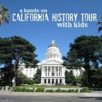 Ditch class to discover this hands-on California History Tour with kids