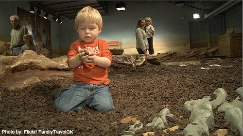 California Dinosaur Encounters & Digs for Families and Kids: Dinosaur Dig kids family Photo by: Flickr/FamilyTravelCK