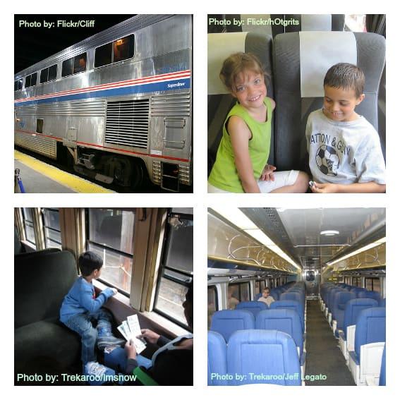 Military Family Travel Train