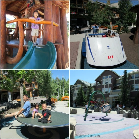 Playgrounds for Kids in Whistler, BC Photos by: Trekaroo/Carrie Yu