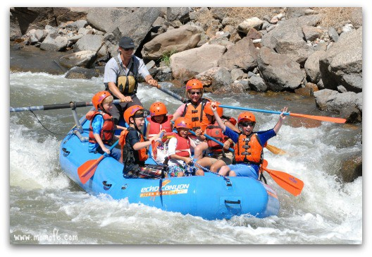 White water rafting the Arkansas River with Echo River Canyon Expeditions