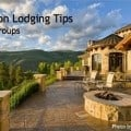 Lodging tips for multiple family ski trips, ski vacation lodging tips