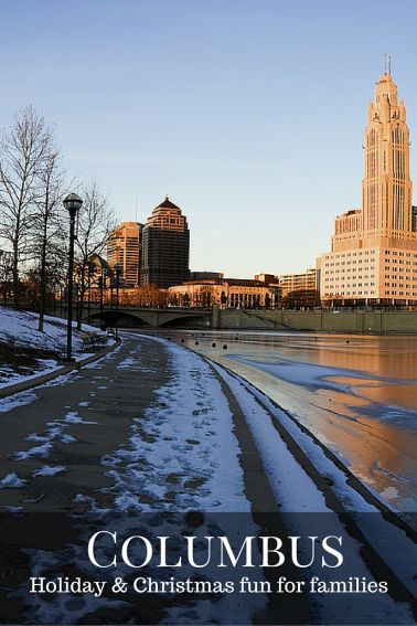 Christmas and holiday fun in Columbus Ohio