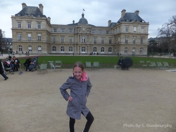 Luxembourg Gardens Paris,France