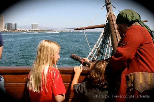 San Diego Pirate Boat