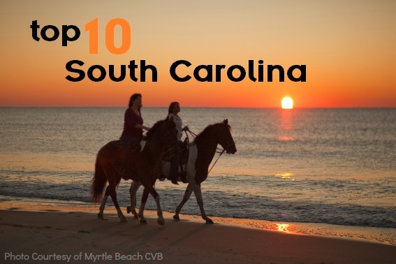 Top 10 things for families to do in south carolina for Best things to do in nyc with family