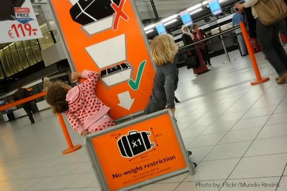 Kids international travel 1 airport