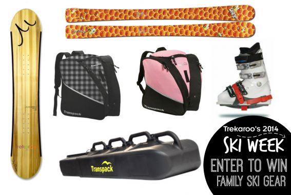 Ski Week Enter to Win Family Ski Gear